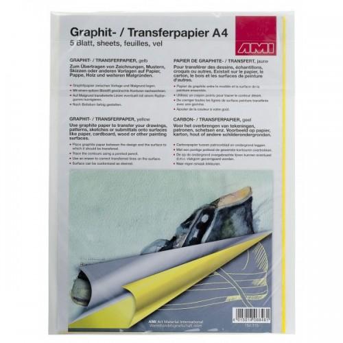 Carta grafitata gialla