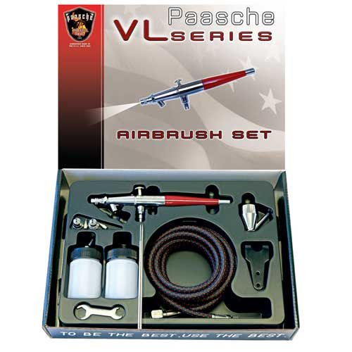 Aerografo Paasche VL doble action set
