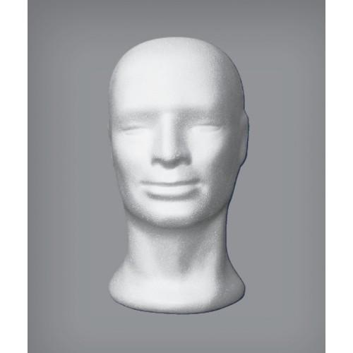 Testa di polistirolo Uomo