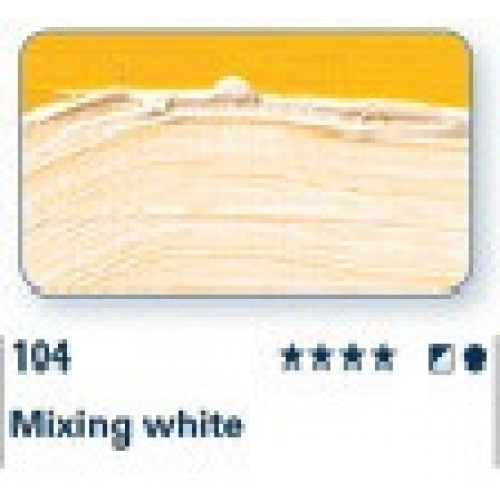 104 bianco per miscele
