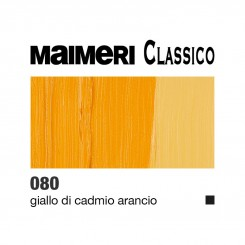 080 Giallo di Cadmio arancio