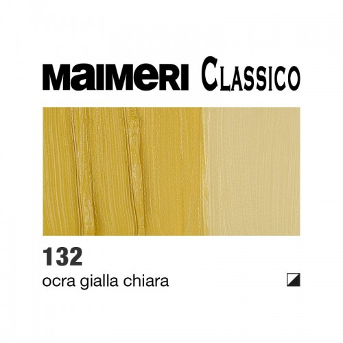 132 Ocra gialla chiara