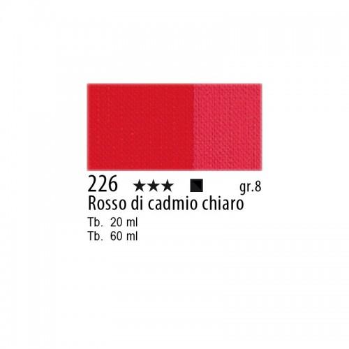 226 Rosso di cadmio chiaro