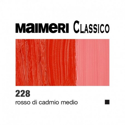 228 Rosso di cadmio medio