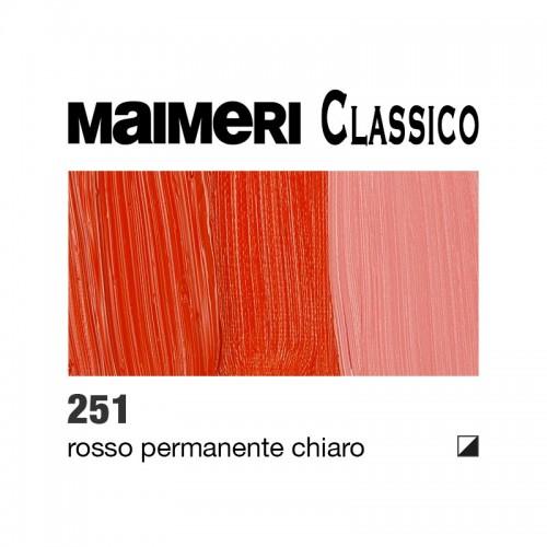 251 Rosso permanente chiaro