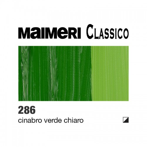 286 Cinabro verde chiaro
