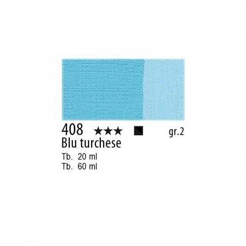 408 Blu turchese