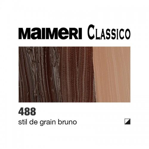 488 Stil de grain bruno