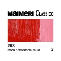 253 Rosso permanente scuro